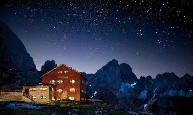 Val di Fassa – Rifugio Roda di Vael Fotografo: Carlo Baroni