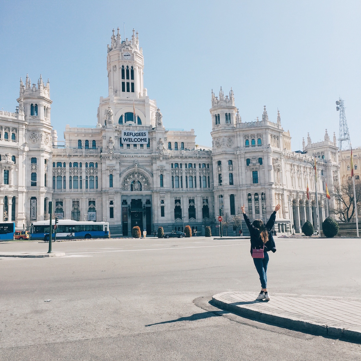 Plaza de Cibeles - Madrid