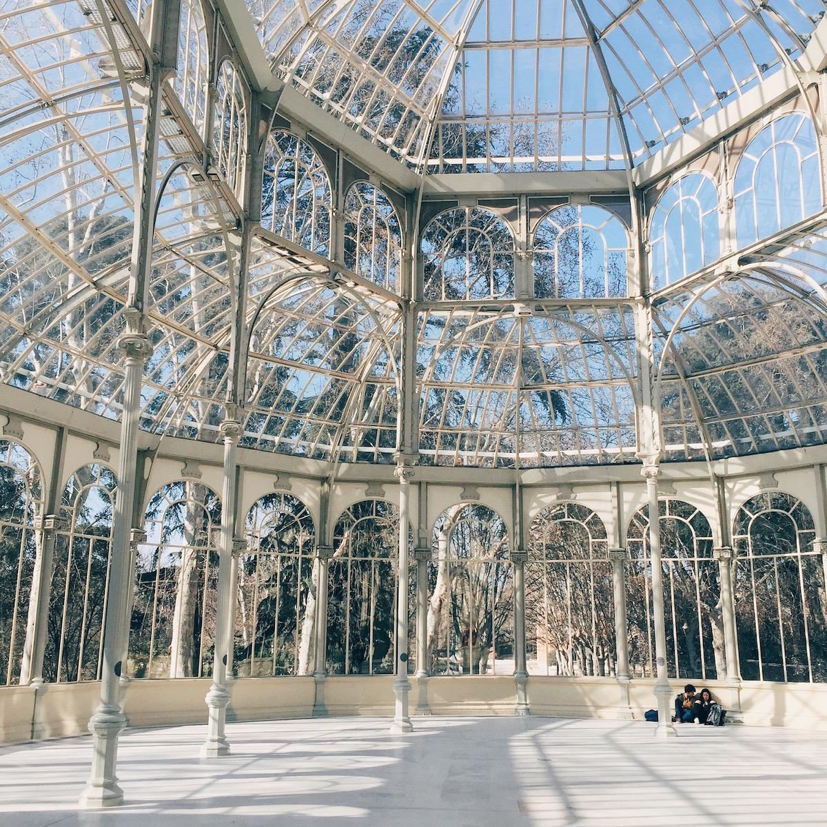 Guida Madrid - Palazzo di Cristallo