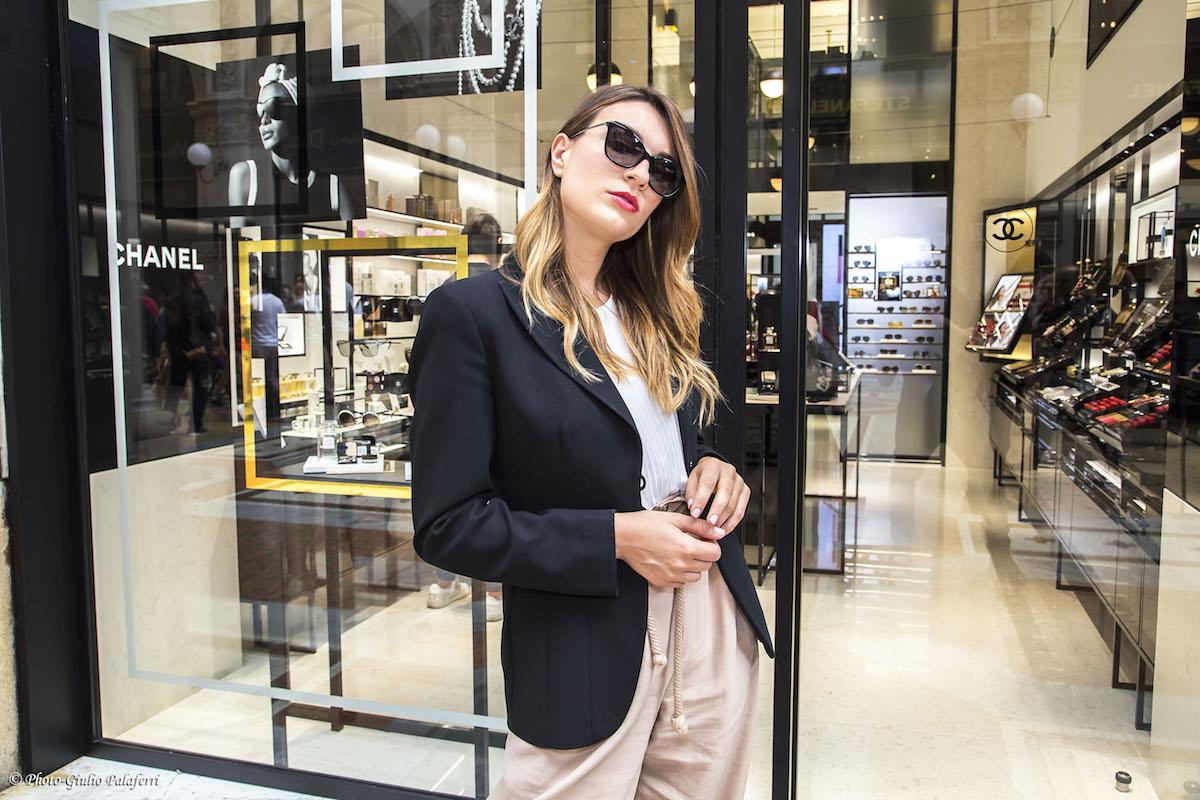 Una giornata speciale nella nuova chanel fragrance for Chanel milano boutique