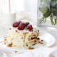 Pancakes con Crema Inglese e Lamponi